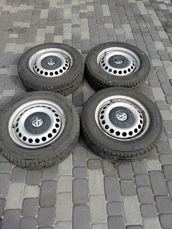 Komplet kół 5x120 z zimówkami Pirelli 215/65/16C