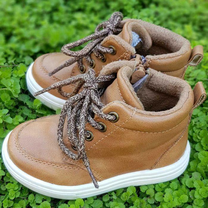 Демисезонние кожаные ботинки NEXT. 4UK Одесса - изображение 1