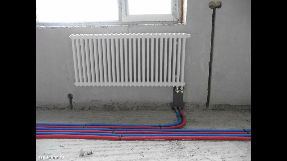 Монтаж отопления и водоснабжения Белокуракино - изображение 1