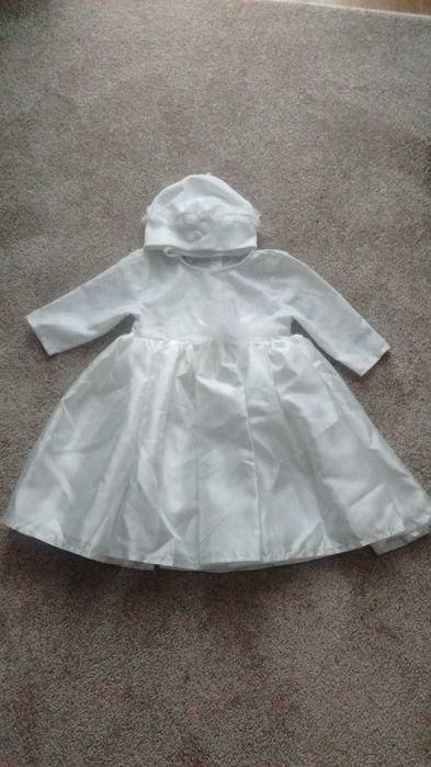 Sukienka do chrztu roz. 62 Rzeszów - image 1