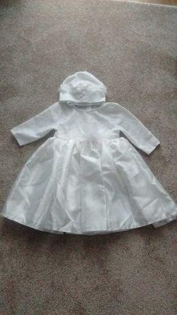 Sukienka do chrztu roz. 62