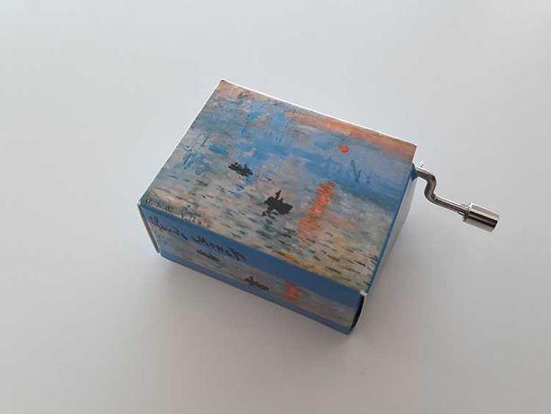 [Envio gratis] Caixa de Musica Beethoven Claude Monet