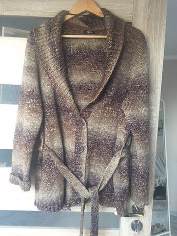 Sweter ciepły alpaka moher H&M