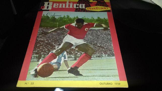 Revista o benfica ilustrado1959