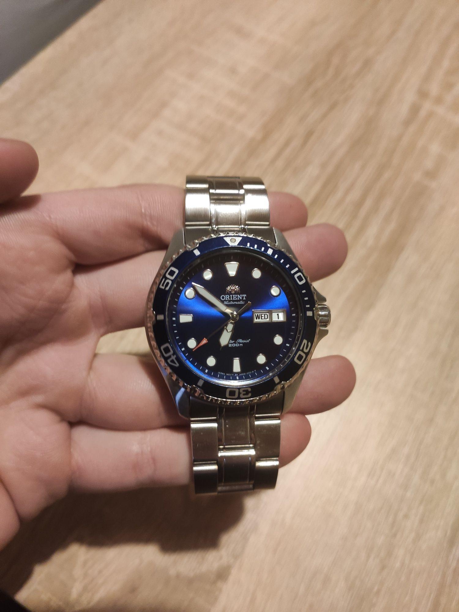 Zegarek Orient Ray II Niebieski
