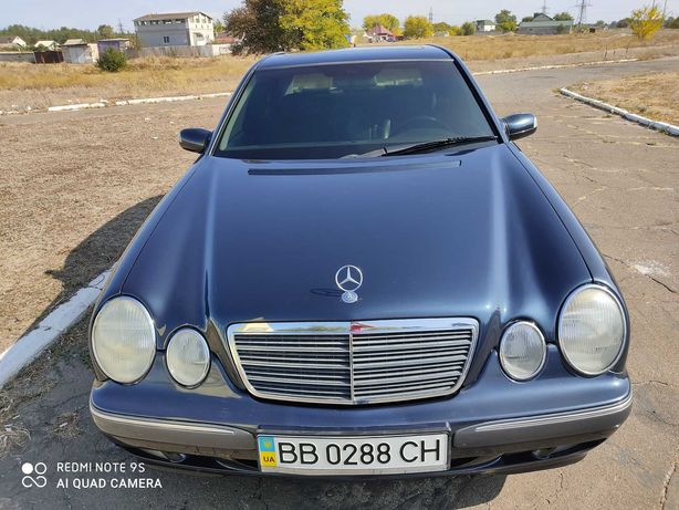 Mercedes-Benz W210 от хозяина