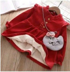 Новое зимнее тёплое платье