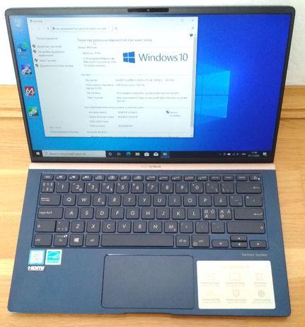 Asus ZenBook 14 UX433FA /Core i5-8265U/8Gb DDR3/SSD 256GB/FullHD