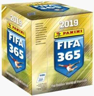 FIFA 365 BOX 36 saszetek 180 naklejek 2019