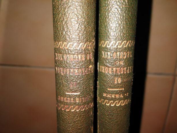 Dois Livros de 1889 de Júlio Verne - Os exploradores do Séc. XIX