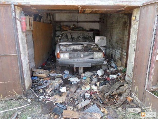Убераем, зачищяем гаражи