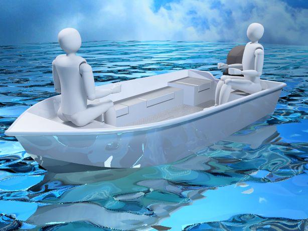 MOON 395 - aluminiowa łódka wędkarska - nowa od producenta