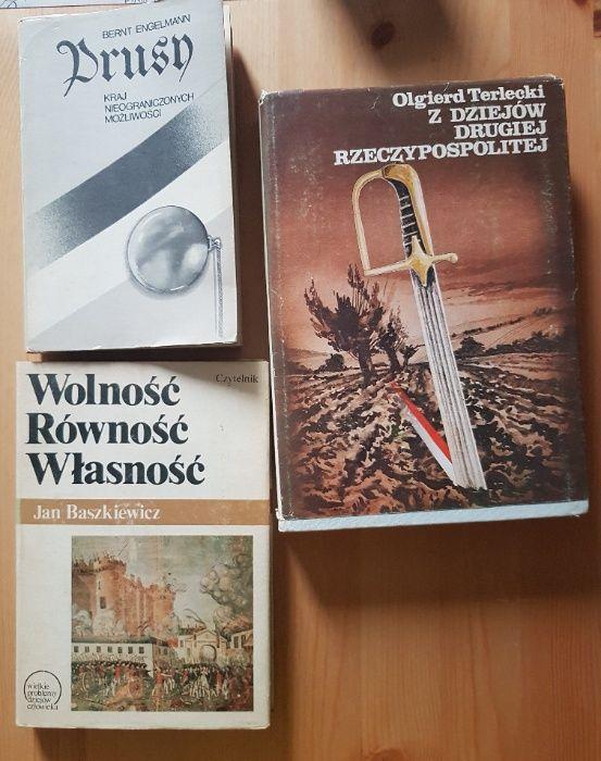 Historia Prus Wolność Równość Własność Z dziejów II Rzeczpospolitej x3 Sosnowiec - image 1