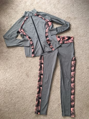 Zestaw fitness bluza + spodnie