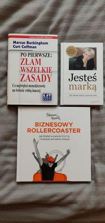 Pakiet książek biznesowych motywujących
