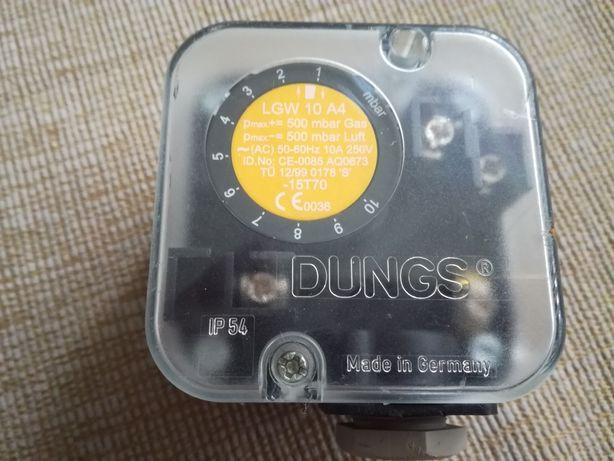 Czujnik różnicy ciśnień, presostat DUNGS LGW 10 A4