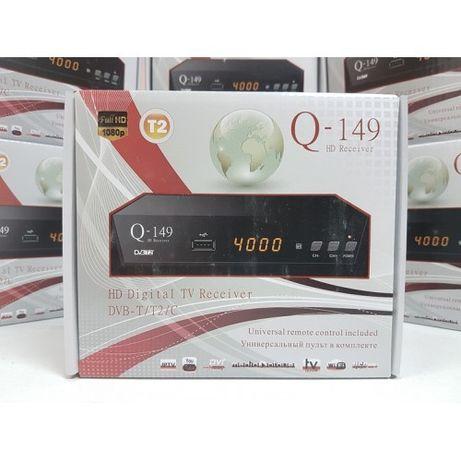 Новый DVB-T2 Q-Sat Q-149 цифровой приемник приставка ресивер DVB-C