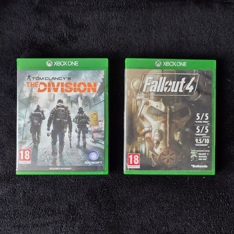 Gry Xbox One. Fallout 4 / The Division