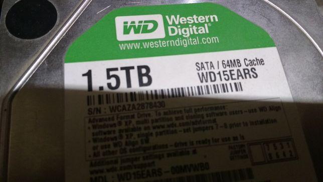 Жесткий диск на 1500 Гб
