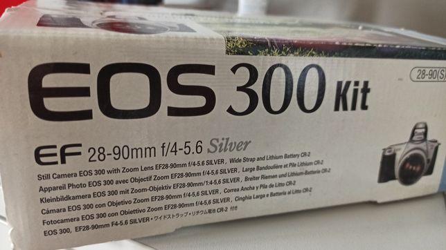 Aparat canon Eos 300 kit
