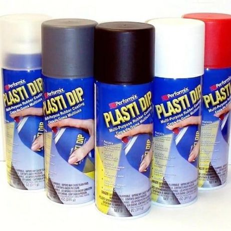 Спрей 400мл, plasti dip сша, жидкая резина, лак, оригинал, искусство