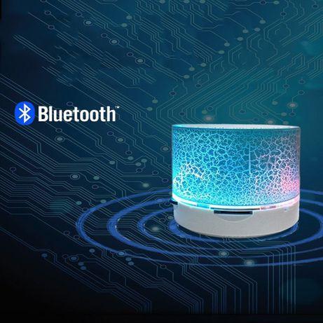 Coluna bluetooth LED Portátil sem fios