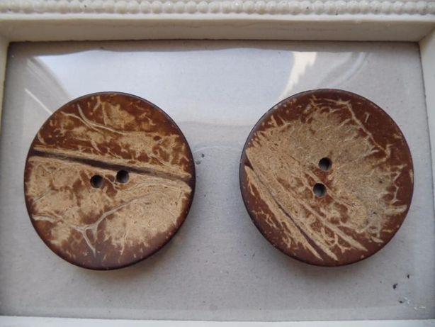 Пуговица кокос