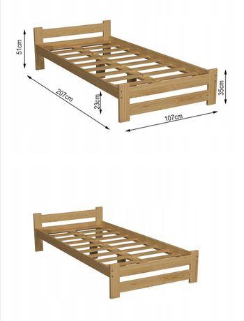 PILNIE!! Sprzedam nowe  łóżko i nowy Materac