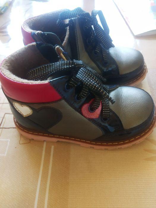 Демі черевики 25 р, 16 см Стрый - изображение 1
