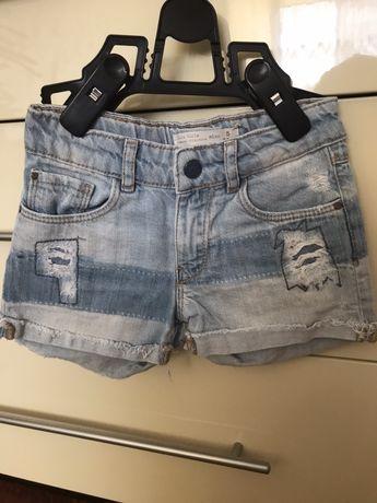 Шорти джинсові фірми Zara