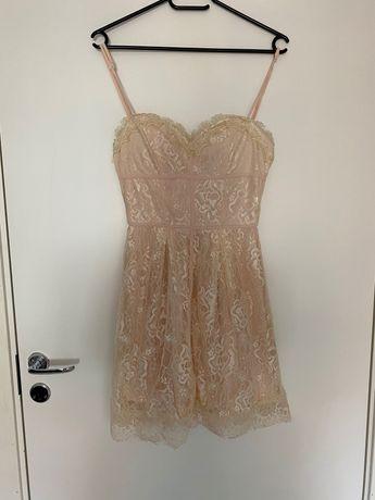 Sukienka koronkowa NELLY XS/34 jak nowa