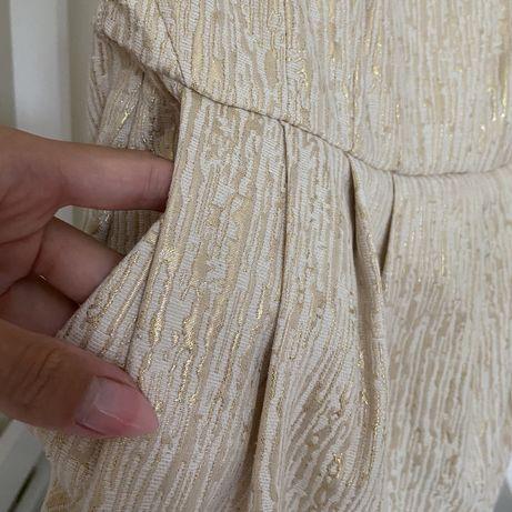 Платье hm коктейльное нарядное футляр без бретелей