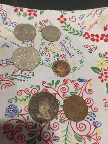 Numismática moedas antigas