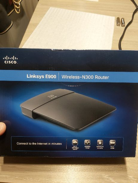Router wi-fi Cisco Linksys E900
