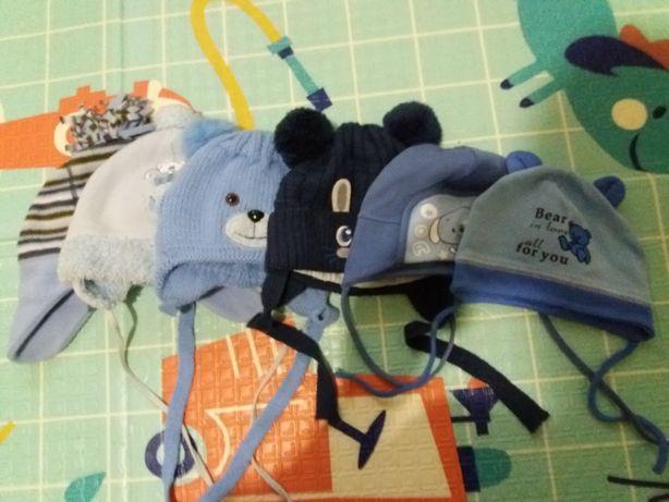 Детские шапки для мальчика