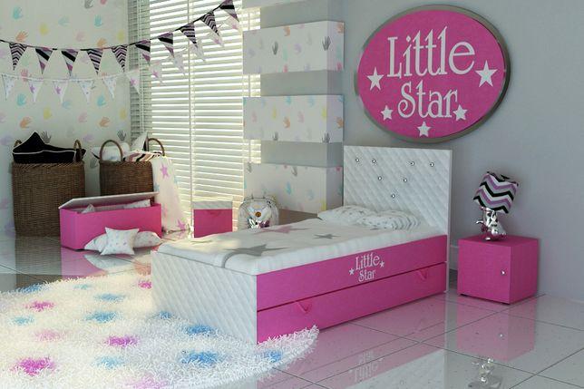 Świecie-Łóżko dla dziecka, dziewczynki z szufladą-Darmowa dostawa!!!