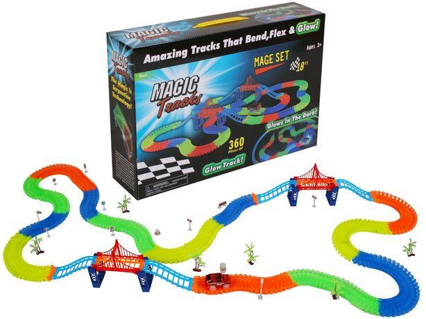 Magic tracks светящаяся дорога 360 деталей | гоночная трасса