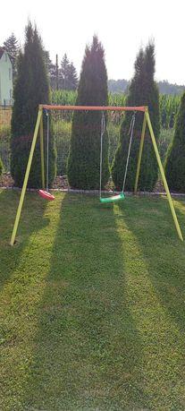 Huśtawka  ogrodowa dla dzieci 2 osobowa