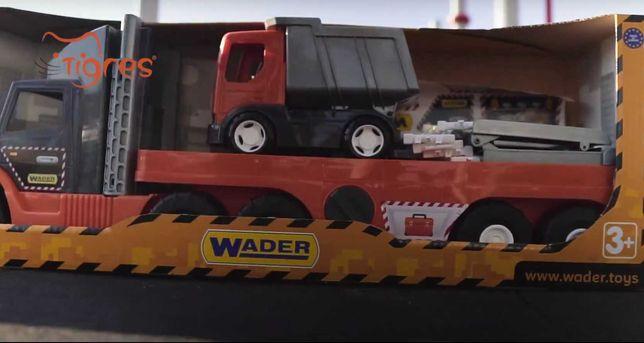 Super tech truck трал с грузовиком