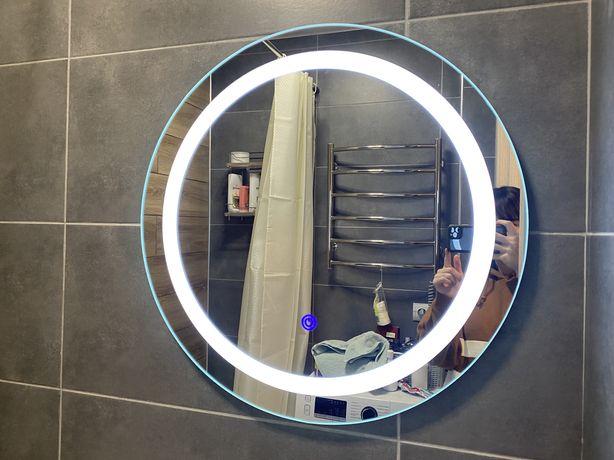 Зеркало с подстветкой для ванной 580*580