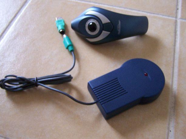 Rato/apontador/trackerball pc informática