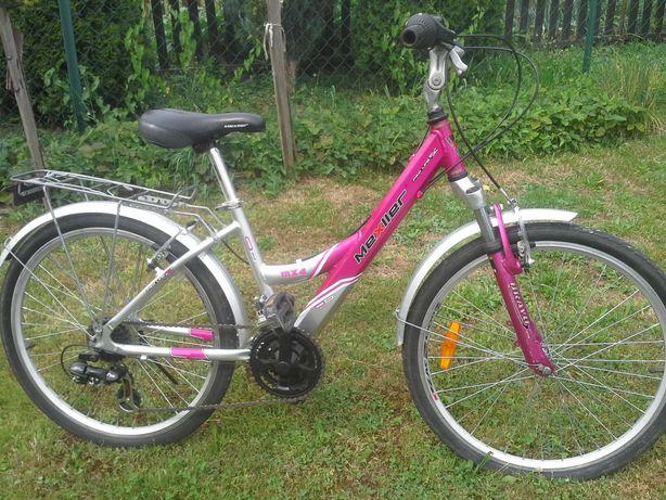 Rower dla dziewczynki Mexller 24''-Aluminiowy