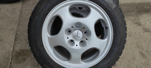 Диски R16 5/112 Mercedes Резина зима 215.55.16