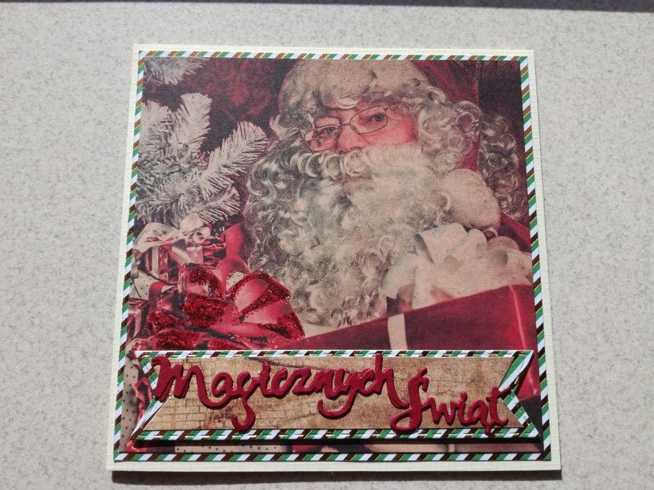 Kartki bożonarodzeniowe ręcznie robione Radlin - image 1