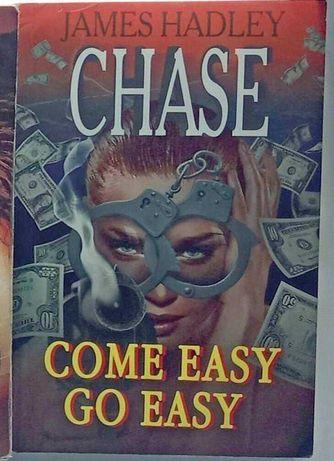"Книга англійською James Hadley Chase ""Come easy go easy"" на английском"