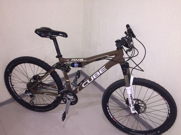 Продам отличный байк велосипед CUBEAMS WLS COMP 2012 год