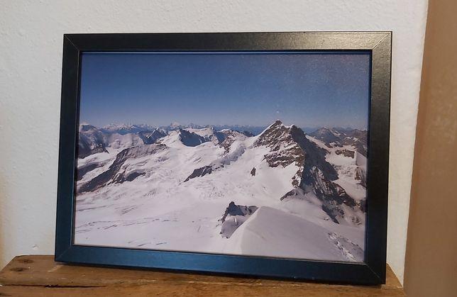 Zimowe zdjęcie gór