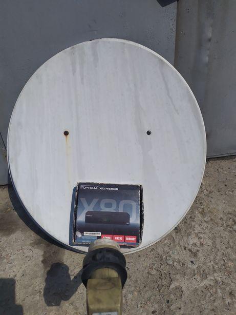 Спутниковая антенна и тюнер
