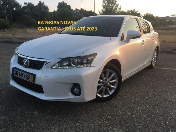 Lexus CT200h (Baterias novas c/ garantia Lexus até 2023)