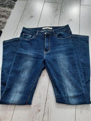 Spodnie damskie, jeansy.